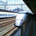 Japanese Bullet Train (Shinkansen) in Shizuoka