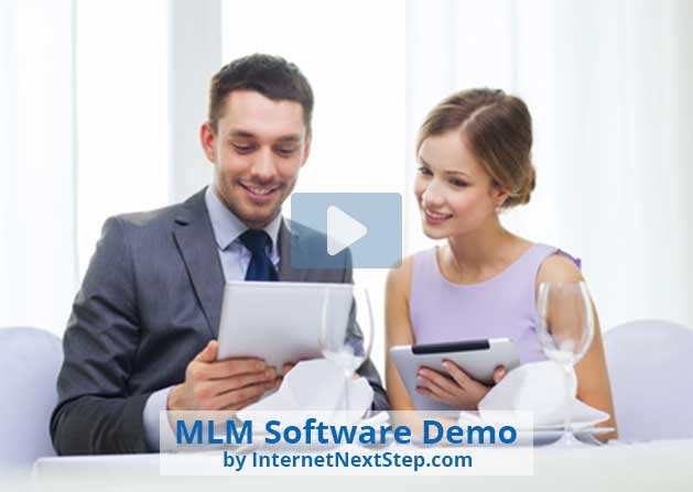Mobile Responsive MLM Software Demo Video