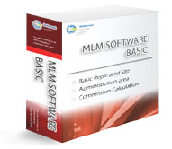 MLM Software Basic Box Graphic